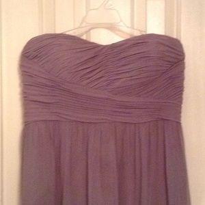 Beautiful gray Donna Morgan dress